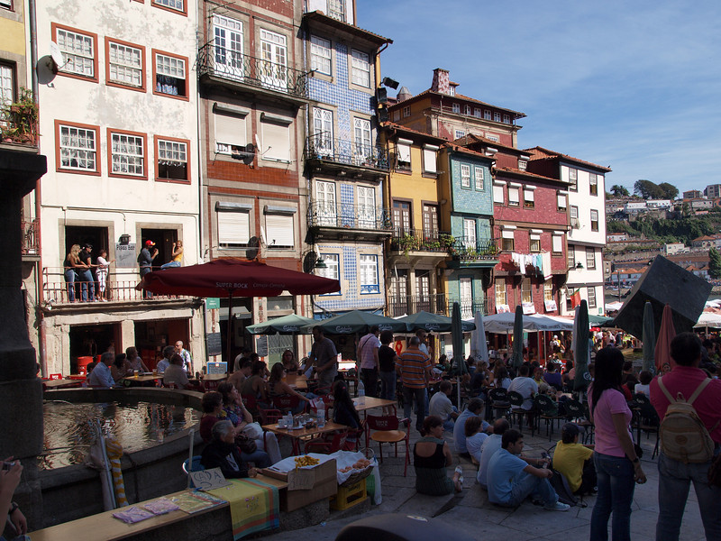 Piazza vicino al Douro