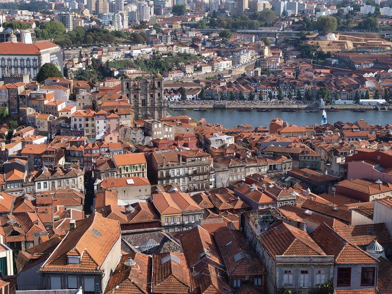 Vista dalla torre della chiesa del Clerigo