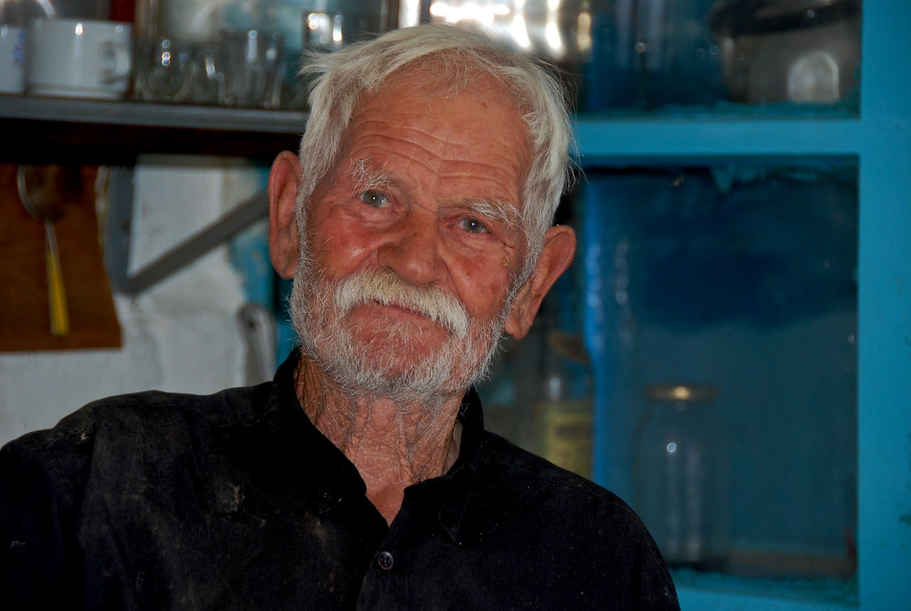 Cafe owner, Crete