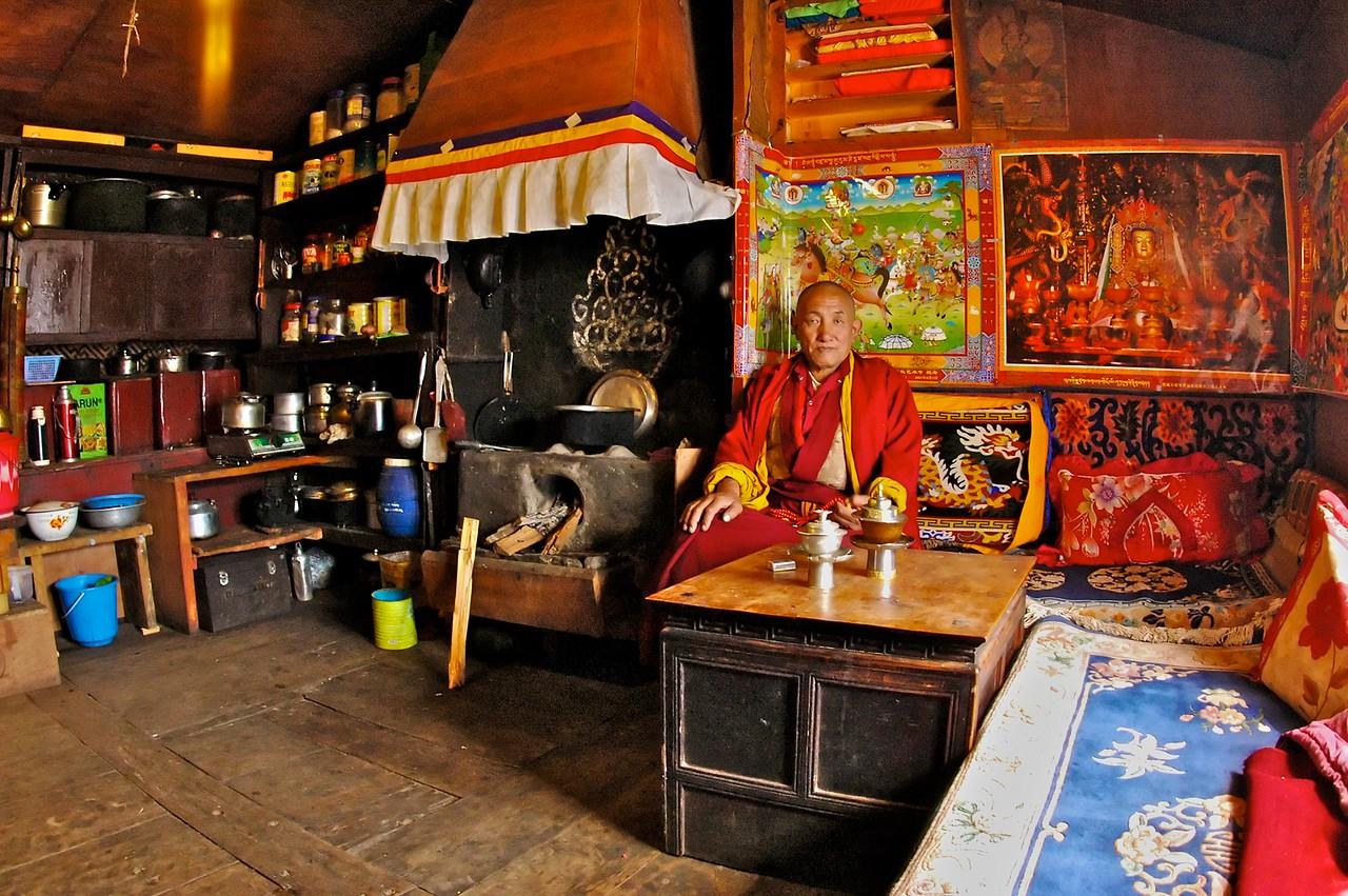 Lama in Tengboche Nepal