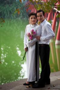 Wedding Day in Hanoi