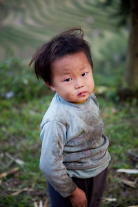Young boy near Sapa