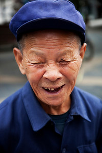 A very happy elderly man, Guilin