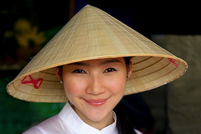 Vendor from Floating Market, Bangkok, Thailand