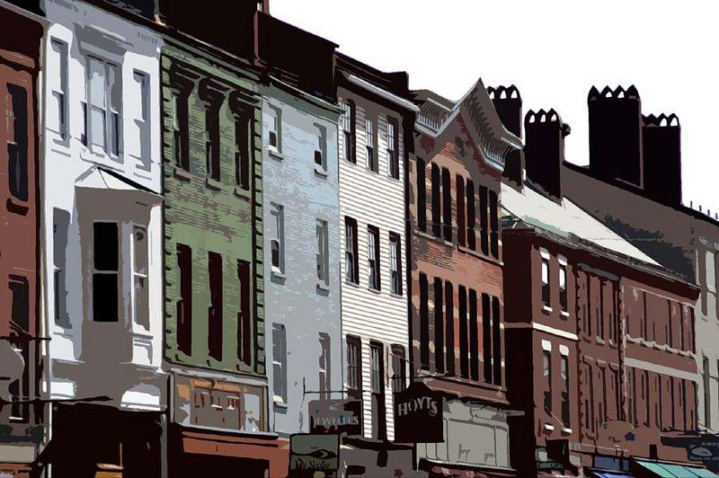 Main Street, Portsmouth N.H.