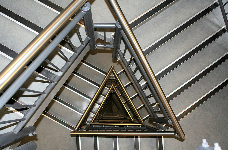 Spinnaker Tower staircase