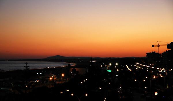 Natt over Monte Gordo.