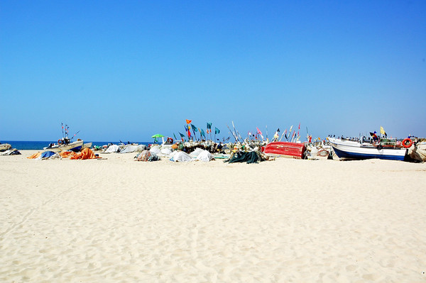 Lenger øst på den enorme Algarvekysten ligger Monte Gordo, ein vakker liten fiskelandsby nesten på grensa til Spania.
