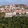 Town of Silves with  Castle, Cathedral and in foreground Roman Bridge