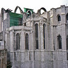 Carmo Monastery in Lisbon. Built in the 15th century but destroyed in the 1755 earthquake.