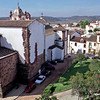 Silves 13th century Cathedral and town.