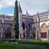 The cloisters at Batalha.