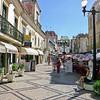 Main street to beach in Albufeira