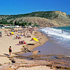 The beach (Praia) in luz, hence Praia da Luz
