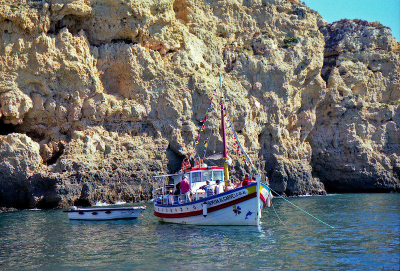 Boat trip to the Ponta da Piedade sea arches near Lagos