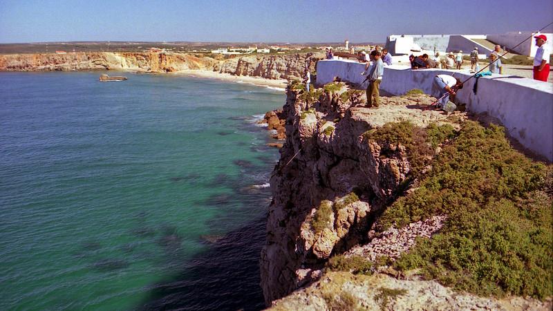 Fishing at Sagres