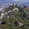Moorish castle ruins Sintra