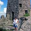 Robyn at the 8th century Moorish Castle ruins in Sintra