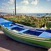Fishing boat at Estoril on Lisbon's southern coast