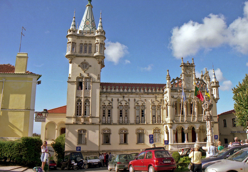 The local council chambers in Sintra.