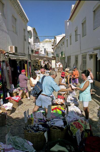 Street market Albufeira