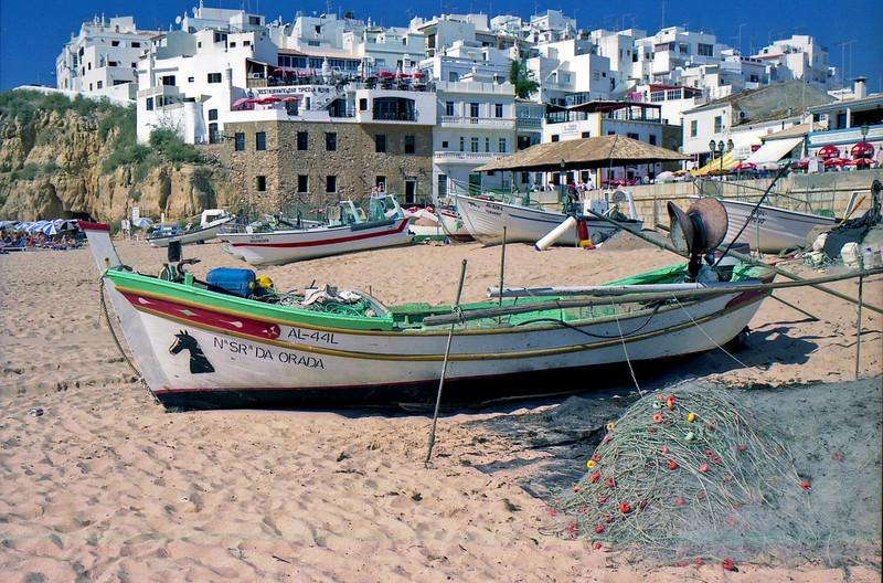 Fishing boats Albufeira