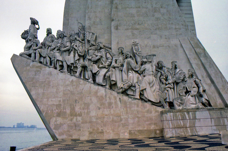 Monument to the discoverers in Belem Lisbon