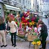 Flower seller Lisbon
