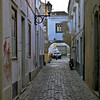 Part of the old town in Faro.