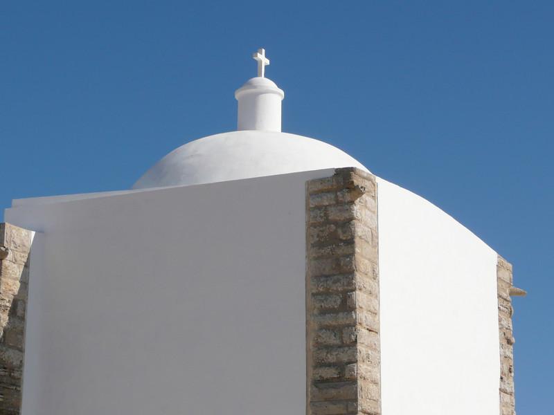 The chapel Nossa Senhora da Graca. From the 15th century.