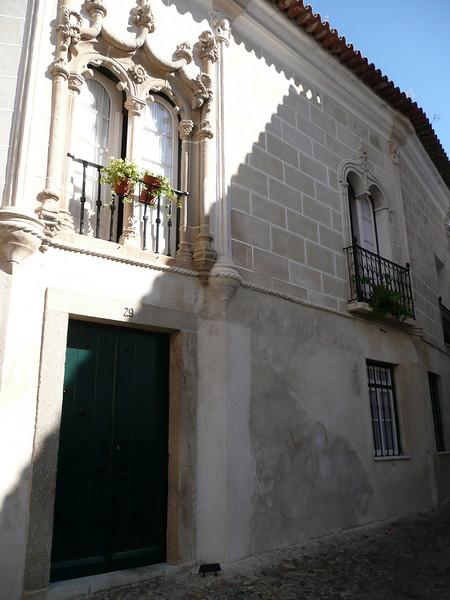 Buildings around Evora.