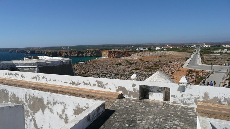 Henry the Navigator's Fortaleza.  Amazing 17th century fortress.