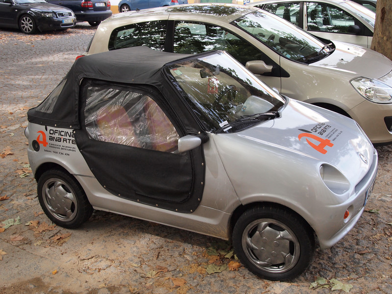 Tiny convertible!