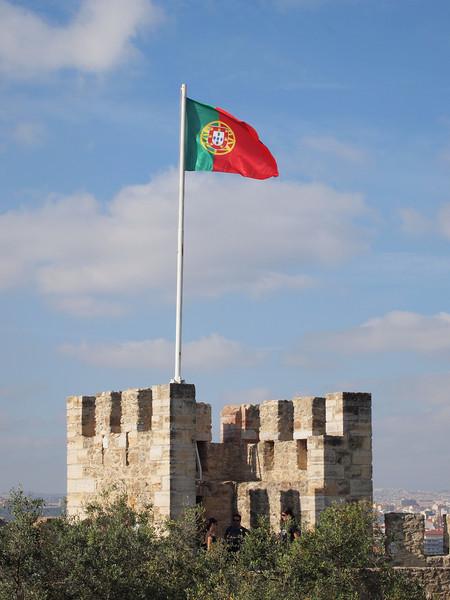 Castle Sao Jorge - Lisbon, Portugal