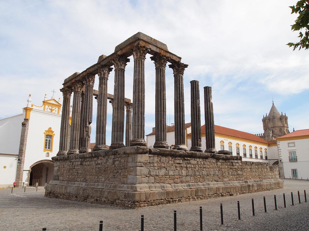 Roman Ruins - Evora, Portugal