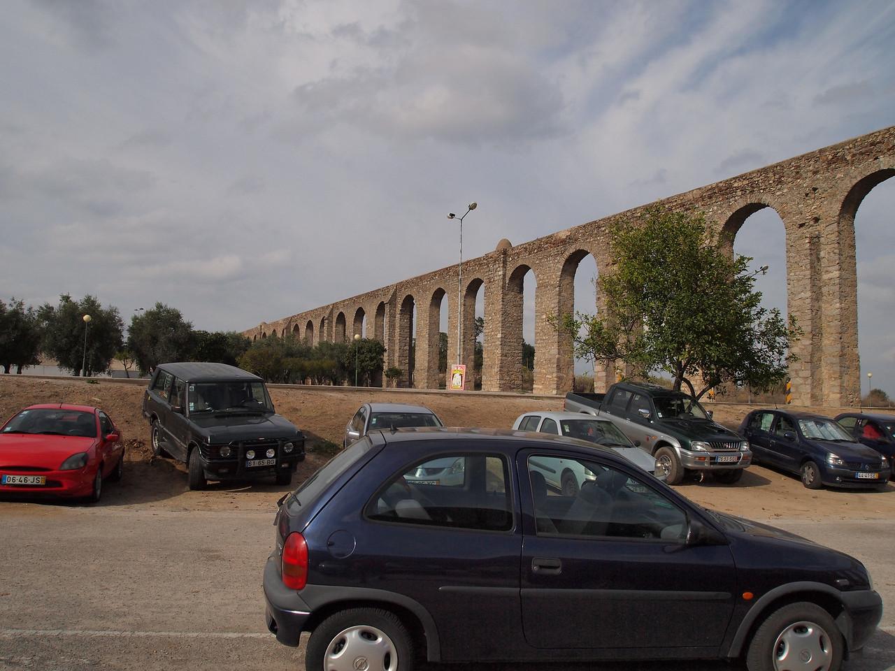 Roman Aquaduct - Evora, Portugal
