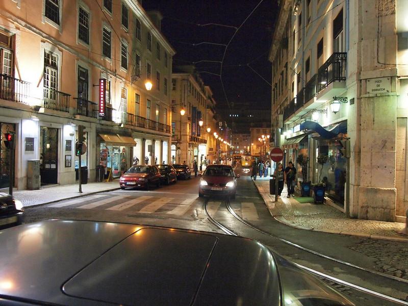 Lisbon after dark