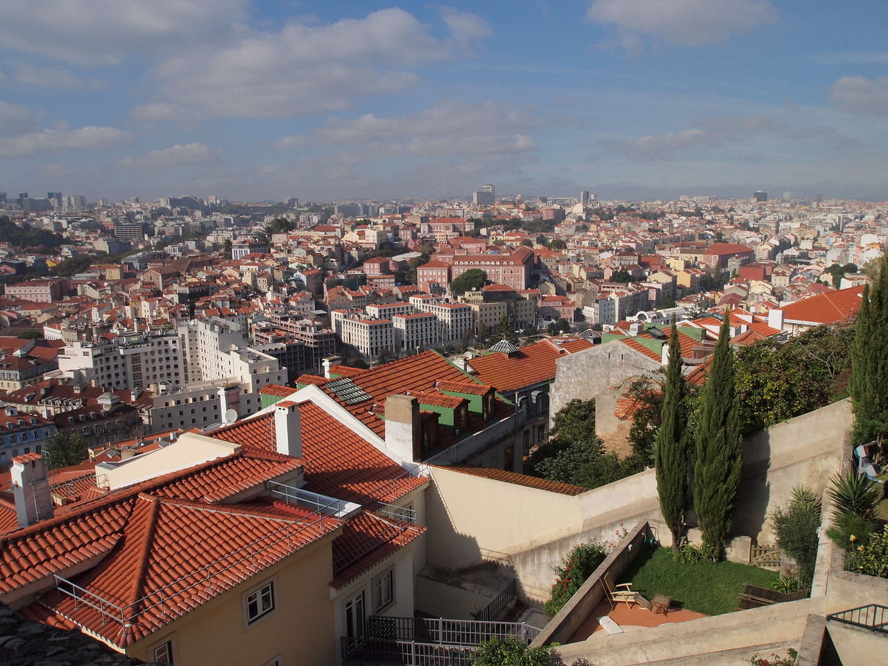 View from Castle Sao Jorge - Lisbon, Portugal