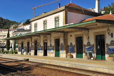 Portugal Trip, Oct. 2009 Pinhao Train Station