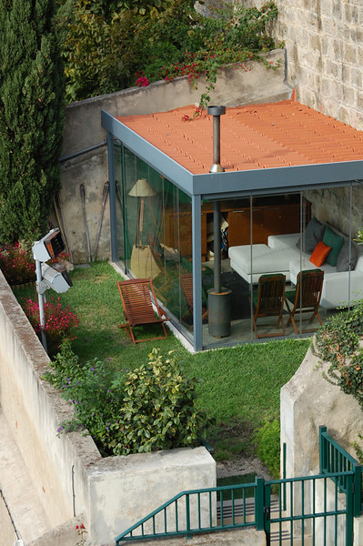 Lisbon hideaway, tucked into the hillside below St. Giorgio