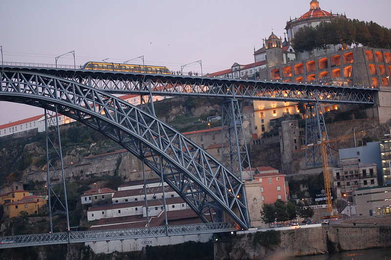 one of the bridges of Porto