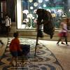 Lisbon - street performer