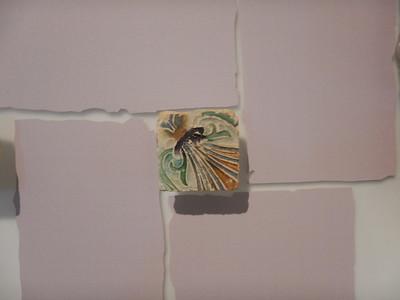 detail of tile