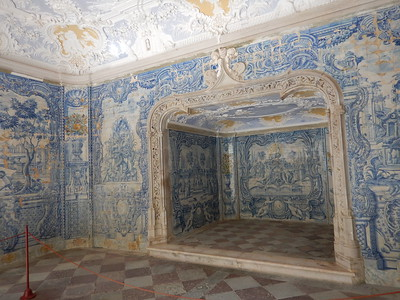 Sintra Palace - Grotto of the Baths
