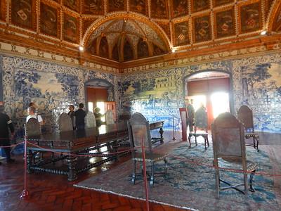 Sintra Palace - Blazon Room