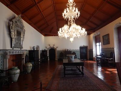 Sintra Palace - Manueline Hall