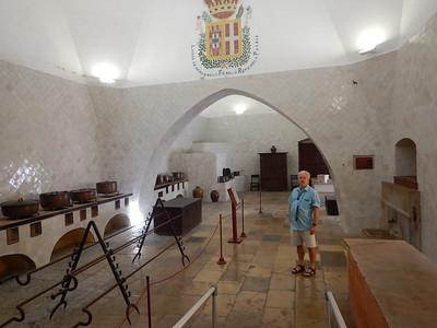Sintra Palace - kitchen
