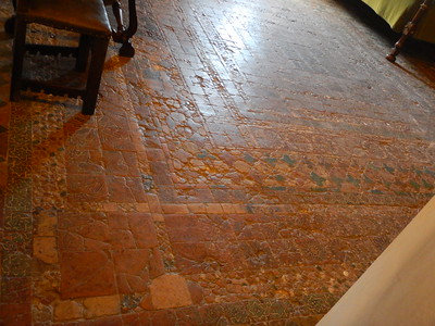Sintra Palace - mosaic floor