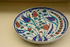 Polychrome floral bowl, also Iznik, also second-half of the 16th century.  We have a (new) bowl much like this one.
