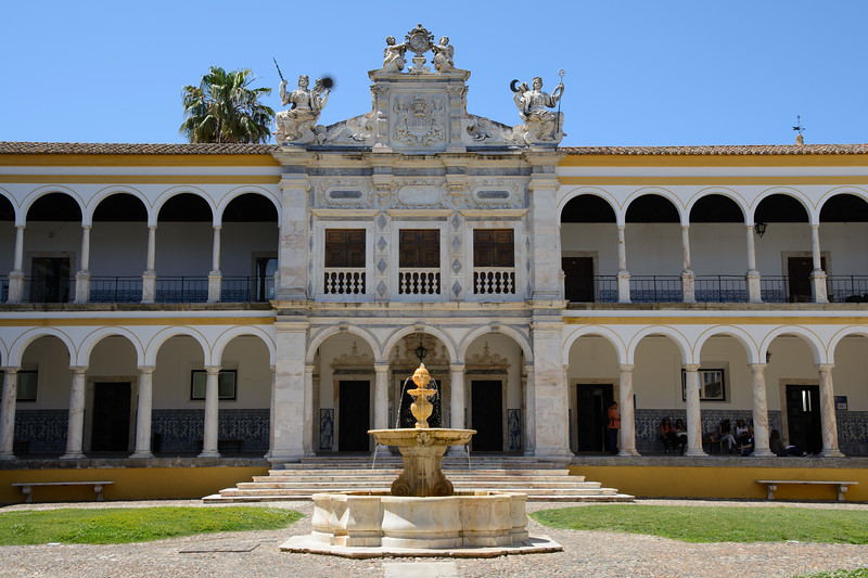 After lunch, we visited the University of Évora, dating to 1559.